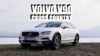Volvo V90 Cross Country T6 (PL) - test i jazda próbna