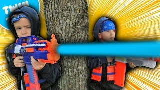 Nerf War:  Payback Time 13 Behind the Scenes