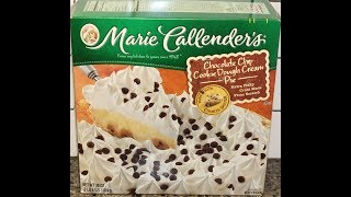 Marie Callender's Chocolate Chip Cookie Dough Cream Pie Review