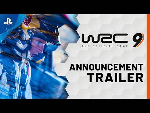 WRC 9 FIA World Rally Championship - Announcement Trailer | PS4, PS5