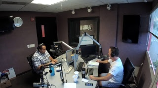 Dunc and Holder on Sports 1280 in New Orleans. June 13, 2018
