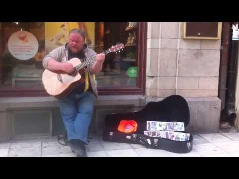 Dave Stewart - Just a small town girl Stockholm Street Artist...