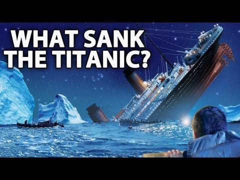 NEW INFO: What Really Caused The Titanic To Sink?