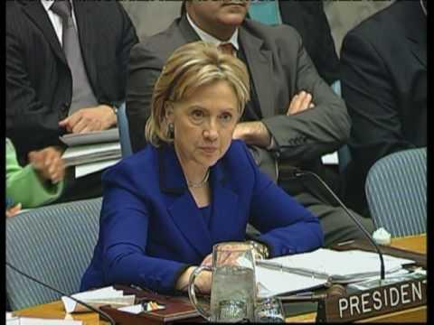 MaximsNewsNetwork: HILLARY CLINTON WOMEN WAR PEACE IRAN UN SECURITY COUNCIL NPT FORMAT