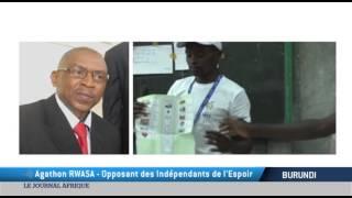 TV5MONDE : Victoire du parti de Nkurunziza aux législatives