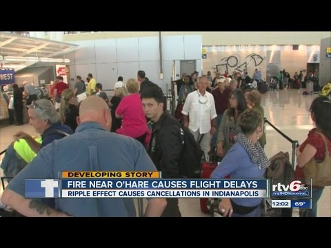 Chicago air travel woes affect Indianapolis