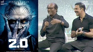 Rajinikanth Accidently Reveals Story of Robot 2.0
