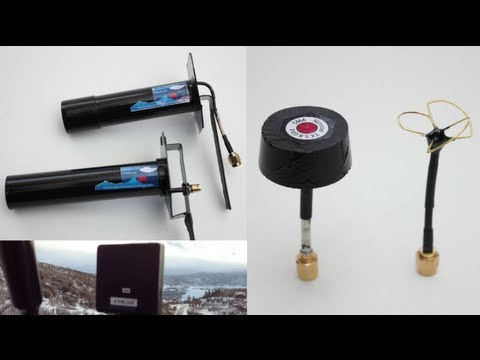 FPV Circular Polarized Antenna Testing - RCTESTFLIGHT