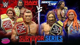 WWE SURVIVOR SERIES 2018 PREDICTIONS! WWE FIGURES!