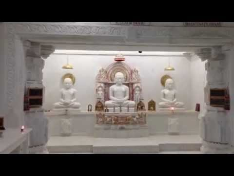 Digamber Jain Temples In Usa video