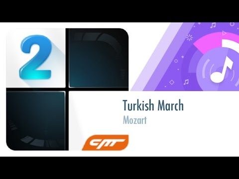 Turkish March - Mozart │Piano Tiles 2