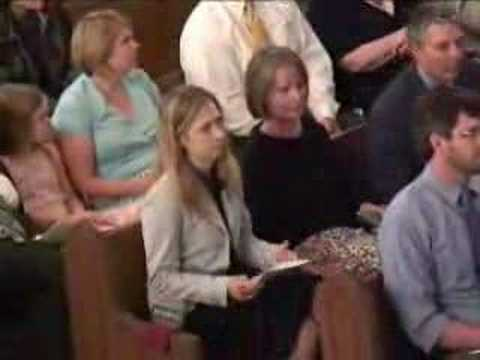 Chelsea Clinton at church