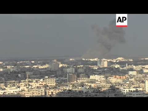 Israeli airstrikes continue to hit targets in the Gaza Strip