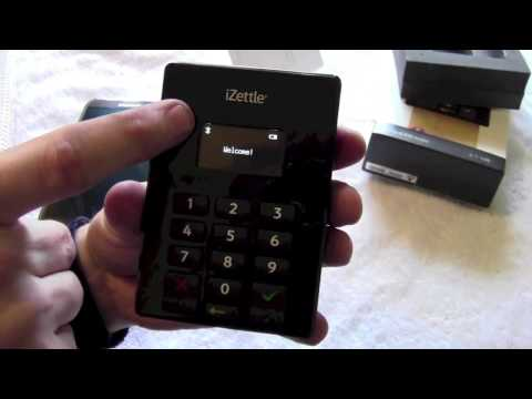 iZettle Chip and pin reader