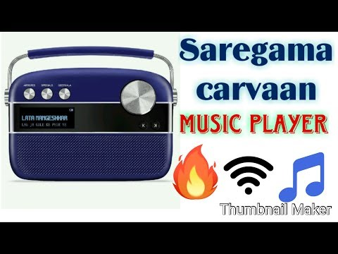 Saregama Carvaan Premium Portable Digital Music Player