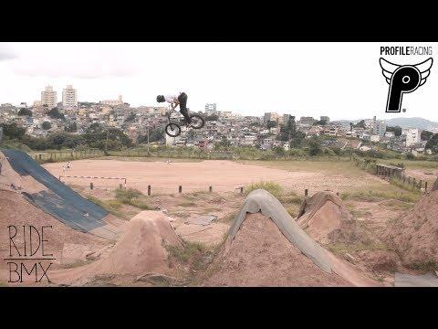 BMX - PROFILE - LEANDRO MOREIRA - CARACAS TRAILS IN BRAZIL