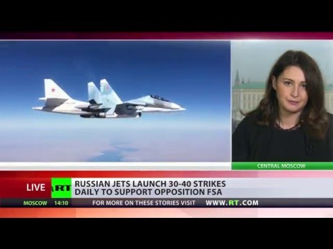 FSA Support: Russia launches 40 airstrikes daily to aide Syrian opposition fighting terrorism