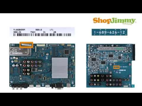 TV Part Number Identification Guide for Sony Main Boards (LCD. LED. Plasma TVs) TV Repair