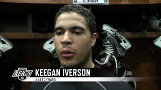 Keegan Iverson on Return to Ontario Reign - 7/14/17