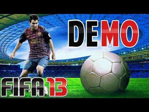 FIFA 13 // DEMO // Man City e Arsenal - Em PT-BR