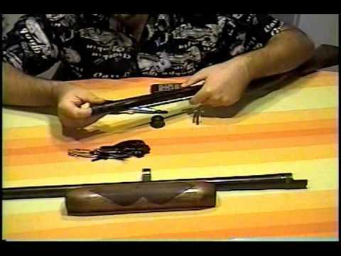 How to field strip a Remington model 58 Semi-auto shotgun.