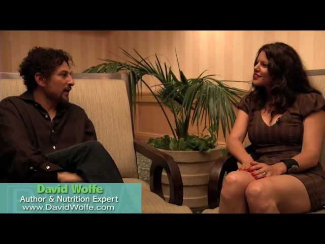 David Wolfe on Chaga Mushrooms - Blythe Raw Live