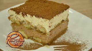 Praktična žena - Nugat tiramisu kolač sa domaćim bejlisom