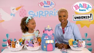 Unboxed!: Baby Born Surprise: Baby Bottle House Playset