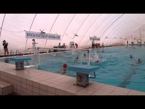 Моменты с игры Water Polo Тараз vs Алматы 2002 и моложе.