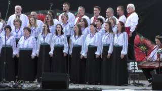The Dumka Chorus With The Cheres Folk Ensemble Soyuzivka 2015 7 11
