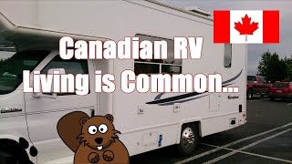 Full Time RV Living in Canada Is Getting Common...