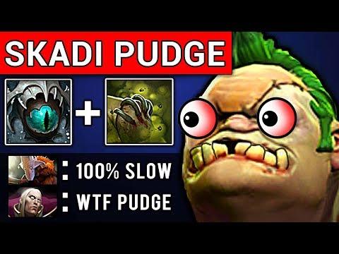 SKADI PUDGE DOTA 2 PATCH 7.07 NEW META PRO GAMEPLAY