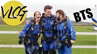 VLOG: BTS of my Skydive - delays, fears and frostbite