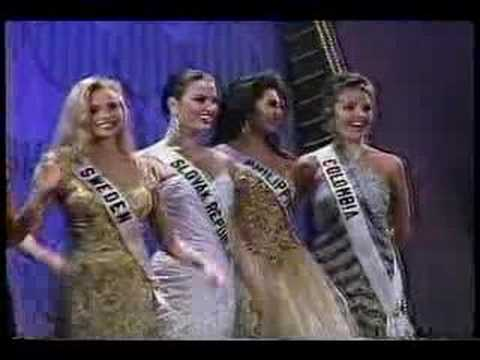 Carolina Gomez @ Miss Universe 1994