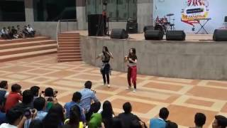 Salman muktadir song dance cover by dhaka college student girl dance 2016