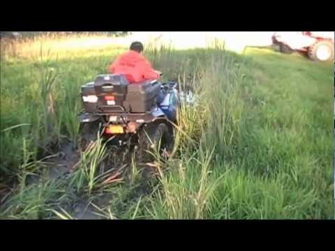 Polaris Magnum 4x4 ATV Mudpit Try