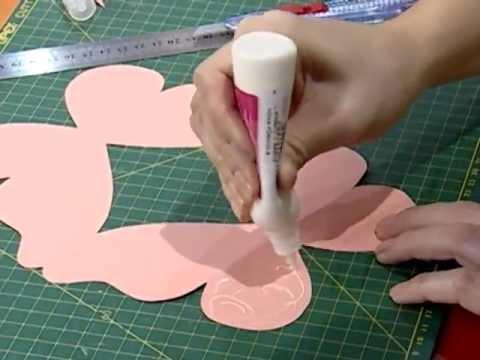 Tarjeta 15 a os mariposa youtube - Como hacer tarjetas navidenas originales ...