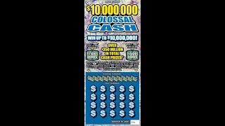 $30 - $30 MILLION COLOSSAL CASH - WIN! Lottery Bengal Scratch Off instant tickets NEWER TICKET! WIN!