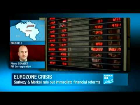 Economic crisis - Sarkozy and Merkel push for tighter eurozone governance