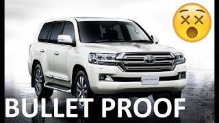 Bullet proof Land Cruiser V8 5.6L 2016