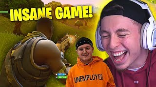 OUR BEST AND FUNNIEST GAME YET!!! ft. THE FELLAS (Fortnite Battle Royale)