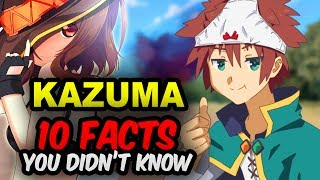 10 Kazuma Facts You Didn?t Know! KonoSuba Facts