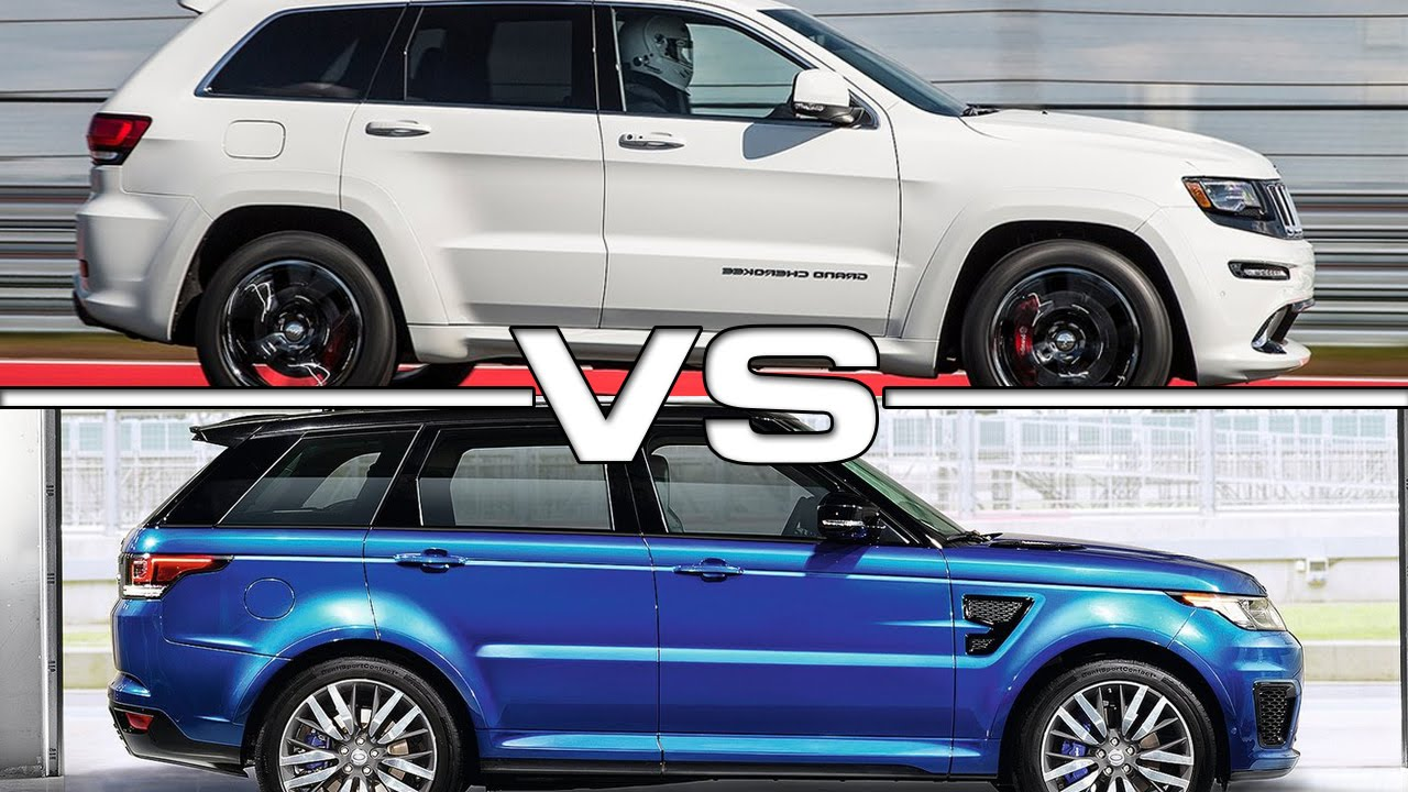 Youtube Land Rover V8 Vs Jeep Srt   Autos Post