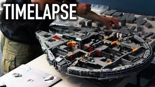 LEGO Star Wars UCS Millennium Falcon 10179 TIMELAPSE BUILD!
