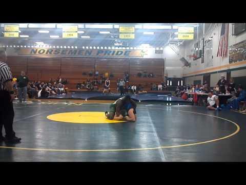 Senior Vincent Jordan East Detroit High School Wrestler 215LBS vs. Utica Eisenhower Heavyweight