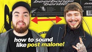 Download Lagu HOW TO SOUND LIKE POST MALONE!! Gratis STAFABAND