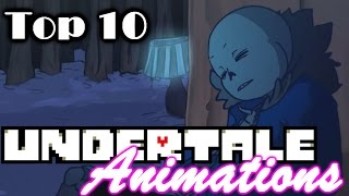 My Top 10 Undertale Animations!