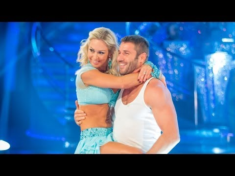 Ben Cohen and Kristina Rihanoff Strictly Come Dancing salsa Hard To Handle