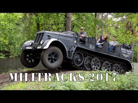 Militracks 2017 (Stug III, Panzer II, Famo, Sd.Kfz 251,...)