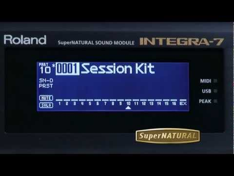 INTEGRA-7 SuperNATURAL Sound Module Overview - Roland Connect Sept. 2012